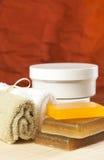Jogo dos objetos para tratamentos dos termas Imagem de Stock Royalty Free
