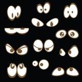 Jogo dos olhos dos desenhos animados Fotos de Stock Royalty Free