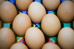 Jogo dos ovos Fotos de Stock Royalty Free