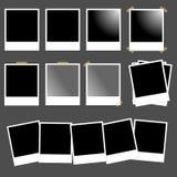 Jogo dos polaroids Fotos de Stock Royalty Free
