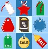 Jogo dos preços Projeto liso Foto de Stock