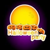 Jogo dos símbolos de Halloween Fotos de Stock