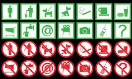 Jogo dos sinais Foto de Stock