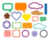 Jogo dos símbolos Imagem de Stock Royalty Free