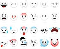 Jogo dos sorrisos ilustração royalty free
