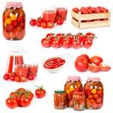 Jogo dos tomates foto de stock