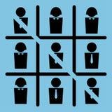 Jogo dos trabalhadores de escritório Imagem de Stock