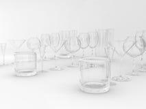Jogo dos vidros ilustração stock