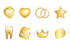 Jogo dourado Imagem de Stock Royalty Free