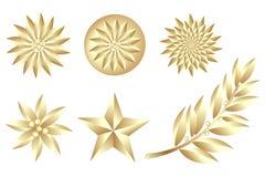 Jogo dourado Imagens de Stock