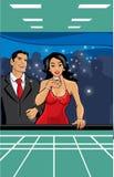 Jogo em vegas Fotografia de Stock Royalty Free