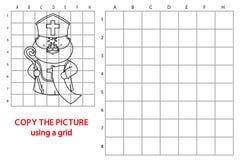 Jogo engraçado de Nicholas ilustração royalty free