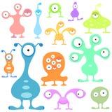Jogo estrangeiro do vetor dos desenhos animados Imagens de Stock