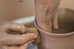 Jogo/fazendo a cerâmica Imagens de Stock Royalty Free
