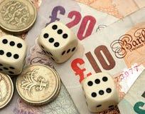 Jogo financeiro Imagem de Stock