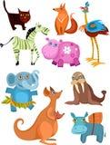 Jogo grande do animal ilustração royalty free