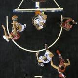 Jogo grego Paok da liga da cesta contra Kifisia Imagem de Stock Royalty Free