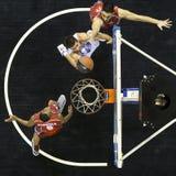 Jogo grego Paok da liga da cesta contra Kifisia Imagens de Stock