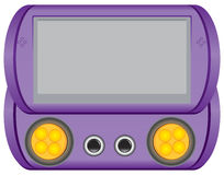 Jogo Handheld feito para crianças Fotografia de Stock Royalty Free