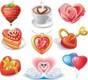 Jogo Heart-shaped Foto de Stock