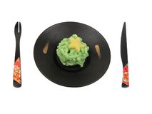 Jogo japonês da sobremesa fotografia de stock
