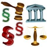 Jogo legal ilustração royalty free