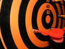 Jogo magnético do dardo Imagem de Stock