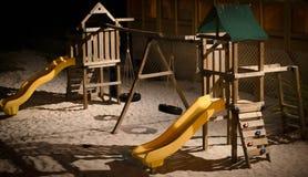 Jogo na praia Imagens de Stock Royalty Free