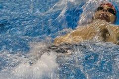 Jogo nadador do jogo 2016 de Brasil - de Rio De janeiro - de Paralympic Imagens de Stock