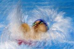 Jogo nadador do jogo 2016 de Brasil - de Rio De janeiro - de Paralympic Imagem de Stock