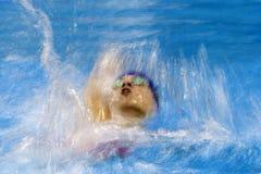 Jogo nadador do jogo 2016 de Brasil - de Rio De janeiro - de Paralympic Foto de Stock Royalty Free