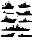 Jogo naval Fotografia de Stock