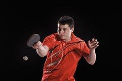 Jogo no tênis Fotos de Stock