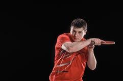 Jogo no tênis Imagem de Stock