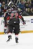 Jogo ocidental da liga do hóquei (WHL) Imagem de Stock