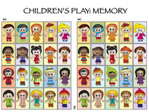 Jogo para crianças Fotografia de Stock