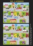 Jogo para crianças Imagem de Stock