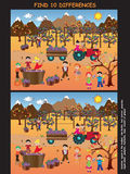 Jogo para crianças Fotografia de Stock Royalty Free