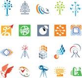 Jogo para logomakers Imagens de Stock