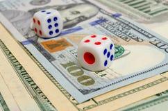 Jogo para o dinheiro Imagem de Stock Royalty Free