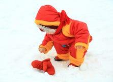 Jogo pequeno do bebé Foto de Stock Royalty Free