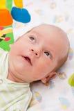 Jogo pequeno do bebê Imagens de Stock