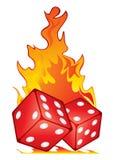 Jogo quente ilustração stock
