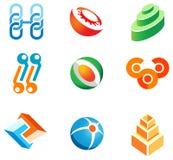 Jogo seguinte para o desenvolvimento do logotipo Fotografia de Stock