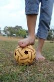 Jogo Sepak Takraw Foto de Stock Royalty Free