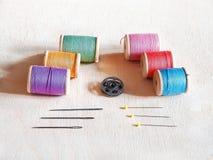 Jogo Sewing Foto de Stock Royalty Free