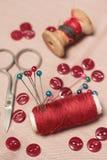 Jogo Sewing. Imagens de Stock Royalty Free