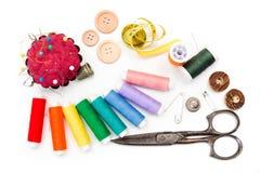 Jogo Sewing Fotografia de Stock Royalty Free