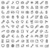 Jogo simples do ícone ilustração stock
