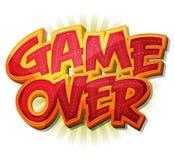 Jogo sobre o ícone para o jogo de Ui Imagens de Stock